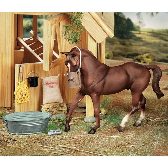 Breyer - Stable Feed Set - Quail Hollow Tack