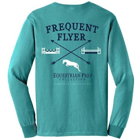 Stirrups Clothing - Frequent Flyer Ladies T-Shirt - Quail Hollow Tack
