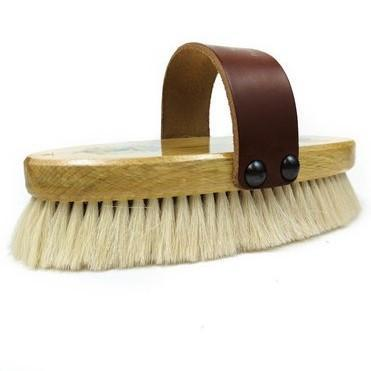 Champion and Hill - Body Brush With Strap - Quail Hollow Tack