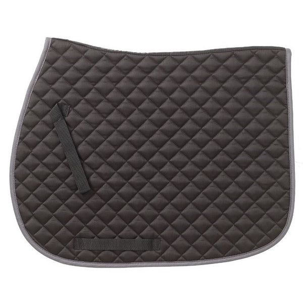 Imperial Saddle Pad - Black/Gray