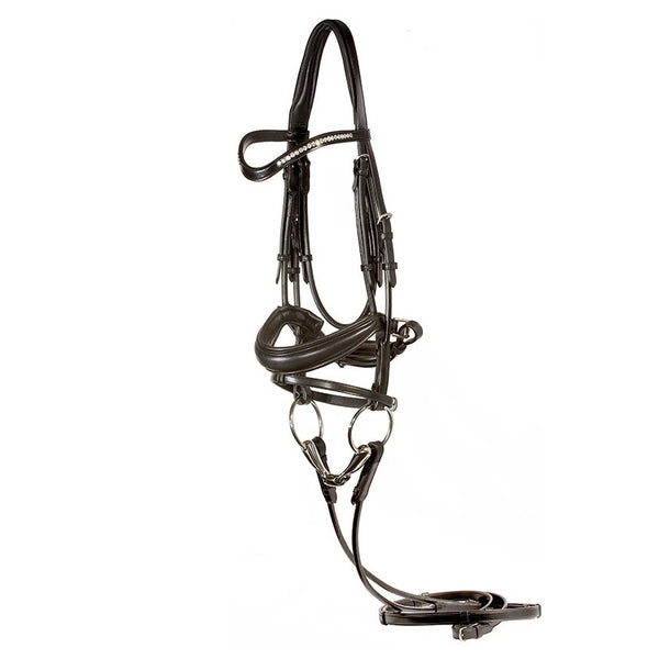 Nunn Finer - Hilda Dressage Bridle - Quail Hollow Tack