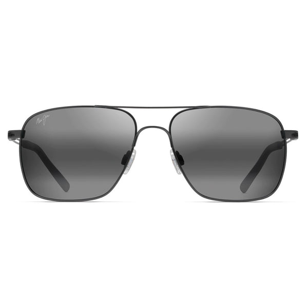 Haleiwa Polarized Aviator Sunglasses - Gunmetal
