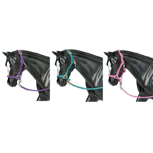 Breyer - Halter with Lead - 3 Pack - Quail Hollow Tack