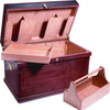 Horse Fare Medium Deluxe Wood Tack Trunk