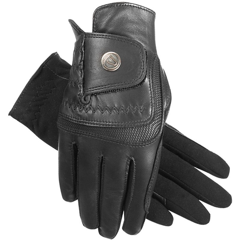 Quail Hollow Tack - SSG - Hybrid Glove - Black
