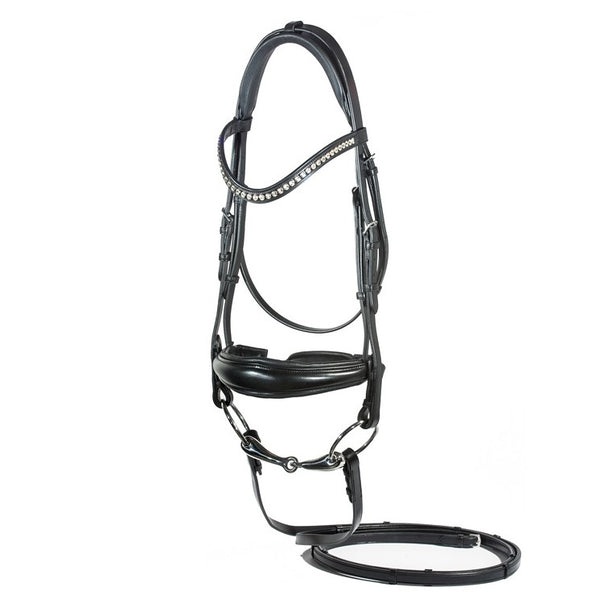 Nunn Finer - Ingrid Dressage Bridle - Quail Hollow Tack