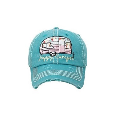 Soiree Line - Happy Camper Hat - Quail Hollow Tack