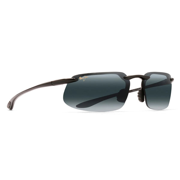 Kanaha Polarized Rimless Sunglasses - Gloss Black