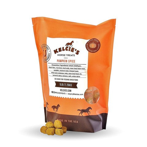 Kelcie's Horse Treats - Pumpkin Spice Horse Treat - 1 Pound Bag - Quail Hollow Tack