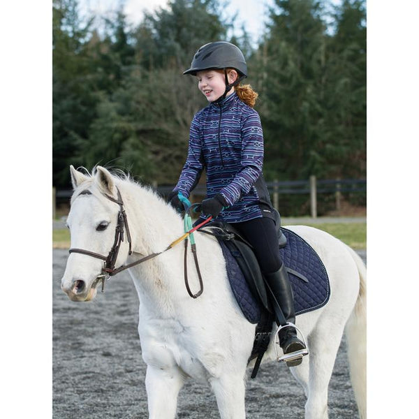 Kerrits - Girls Counter Canter Fleece Half Zip - Quail Hollow Tack