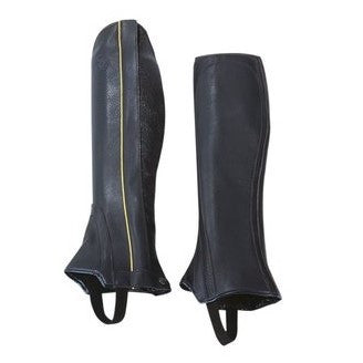 Grand Prix - Full Grain Leather Half Chap - Quail Hollow Tack