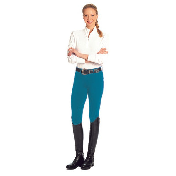 Ovation - Ladies Aerowick Knee Patch Riding Tight - Quail Hollow Tack