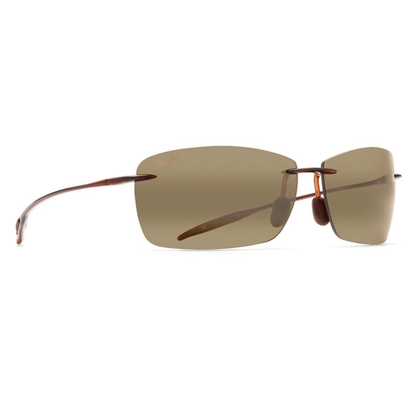Lighthouse Polarized Rimless Sunglasses - Rootbeer