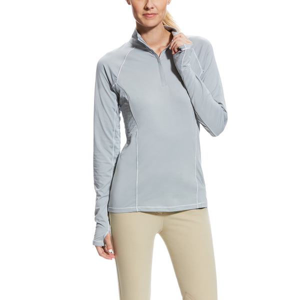 Lowell 2.0 1/4 Zip Baselayer - Coastal Gray