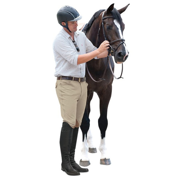 Ovation - Men's 4 Pocket Classic Breech - Classic Show Tan - Quail Hollow Tack
