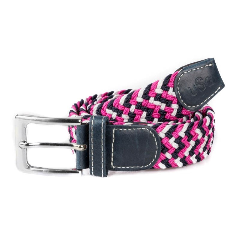 KL Select - Stretch Belt - Pink Multi - Quail Hollow Tack