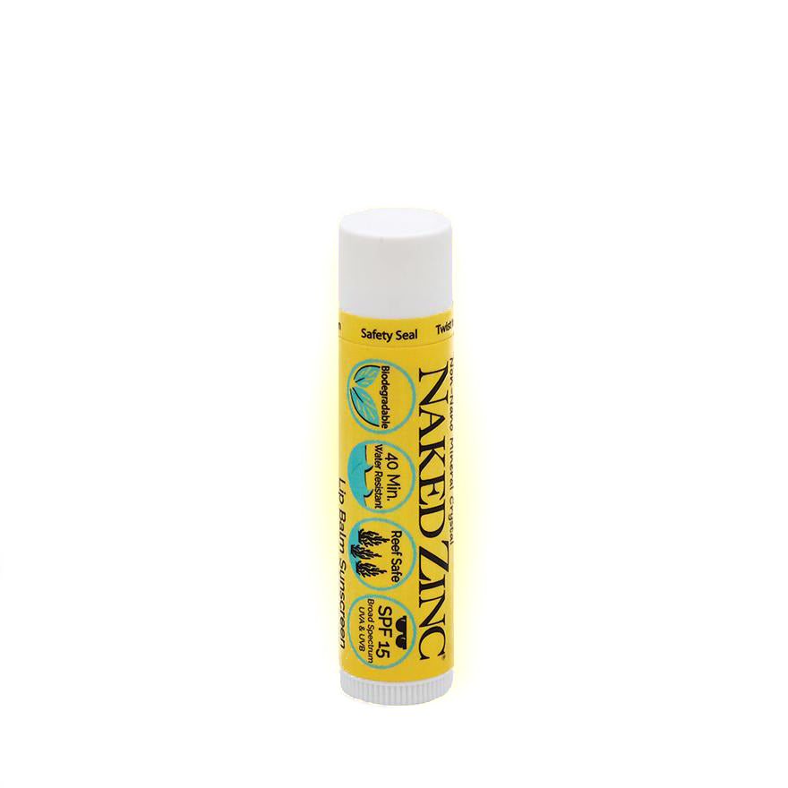 The Naked Bee - Naked Zinc Lip Balm - SPF 15 - Quail Hollow Tack