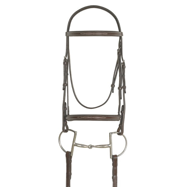 Ovation - Pony Elite Bridle with Reins - Quail Hollow Tack