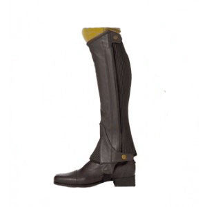 Ovation Ribbed Kids Half Chaps