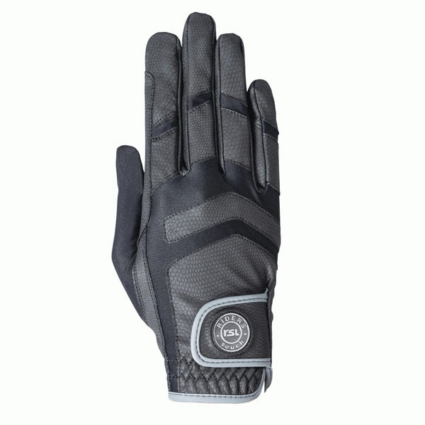KL Select - Palma Riding Glove - Black/Grey - Quail Hollow Tack