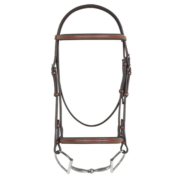 Pessoa - Padded Pony Bridle with Reins - Quail Hollow Tack