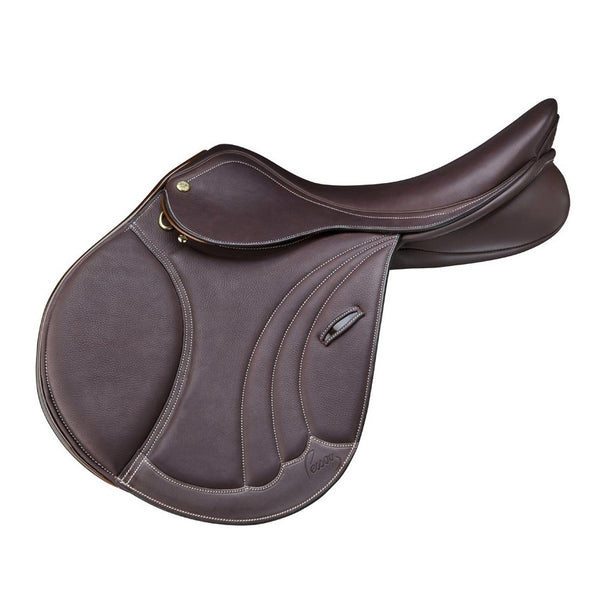 Pessoa - Pro Tomboy Saddle - Covered Leather - Quail Hollow Tack