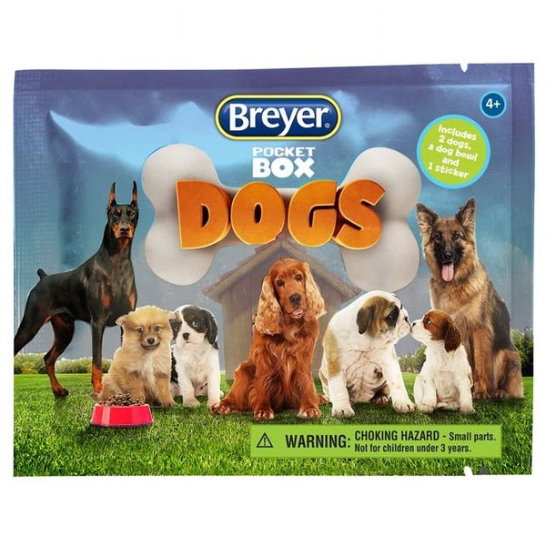 Breyer - Pocket Box Dogs - Blind Bags - Quail Hollow Tack