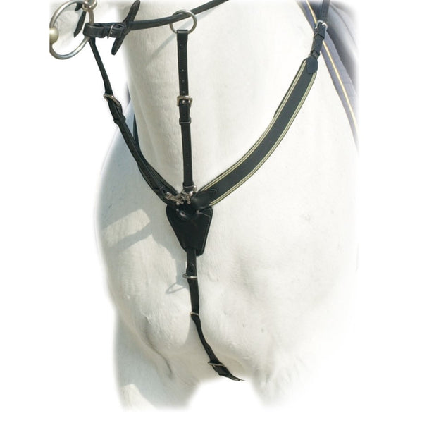 Elastic Breastplate with Running Attachment