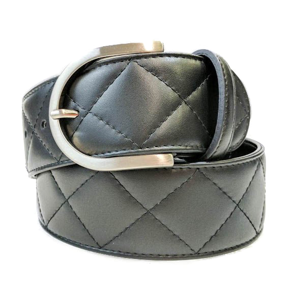 Quilted C Belt