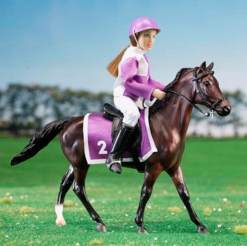 Breyer - Race Horse and Jockey - Classic - Quail Hollow Tack