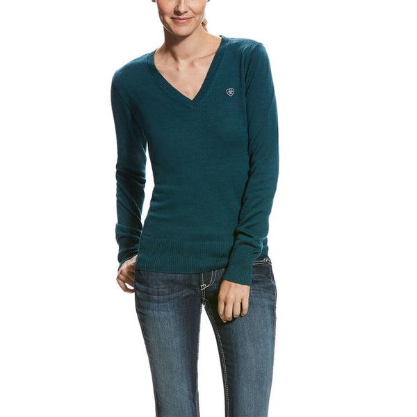 Ladies Ramiro Sweater - Teal Extreme