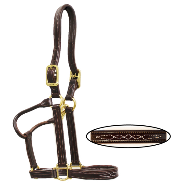 Walsh - Leather Padded Halter - Quail Hollow Tack