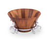 Arthur Court - Wood Salad Bowl - Quail Hollow Tack