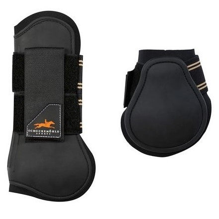 Schockemohle - Jump Guards II Open Front Boots - Set of Four - Quail Hollow Tack