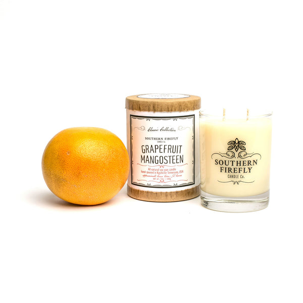 Southern Firefly Grapefruit Mangosteen Candle