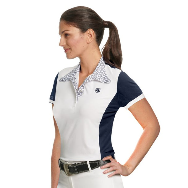 Romfh - Ladies Signature Magnetic Short Sleeve Show Shirt - Quail Hollow Tack