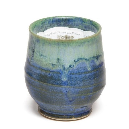 Yunomi Tea Bowl Candle - Skywater