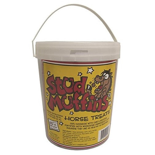 Stud Muffins - Horse Treats - 60 oz. - Quail Hollow Tack