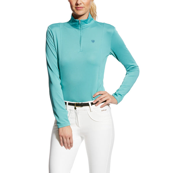 Ladies Sunstopper 1/4 Zip - Cold Plunge
