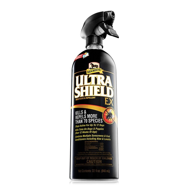 Absorbine - UltraShield EX Fly Spray - Quail Hollow Tack