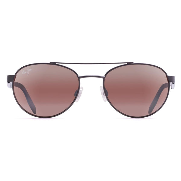 Upcountry Polarized Aviator Sunglasses - Satin Dark Gunmetal