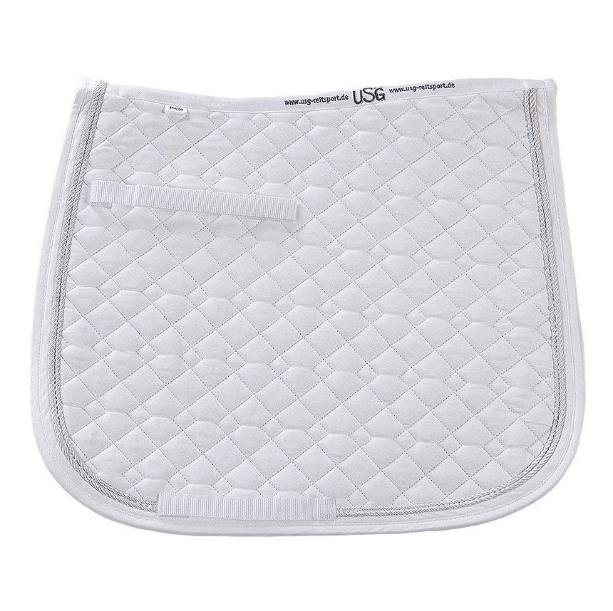 KL Select - Dressage Saddle Pad - White - Quail Hollow Tack