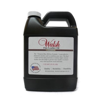 Walsh - Leather Oil - Quail Hollow Tack