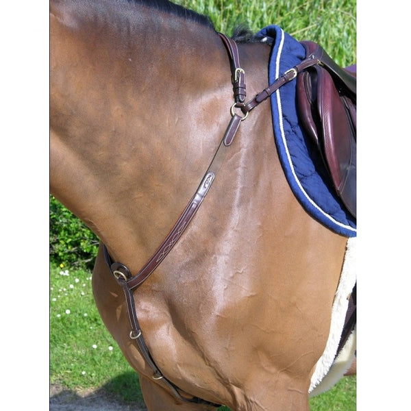 Dy'on - Breastplate with Bridge - Quail Hollow Tack