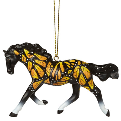 The Trail of Painted Ponies - Butterflies Run Free Ornament - Quail Hollow Tack