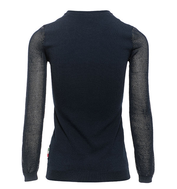 Horseware Ireland - Ladies Sweater with Perforated Sleeves - Quail Hollow Tack