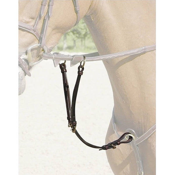 Dy'on - Running Martingale Attachment - Brass - Quail Hollow Tack