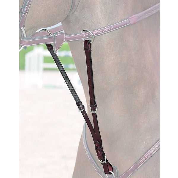 Dy'on - Running Martingale Attachment - Stainless Steel - Quail Hollow Tack