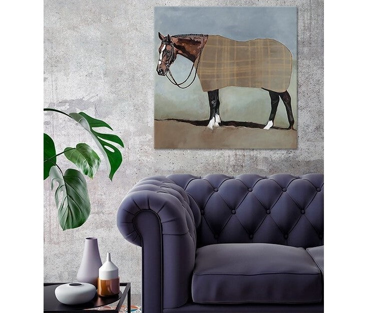 GreenBox Art - Freedom Reigns - Canvas - Quail Hollow Tack