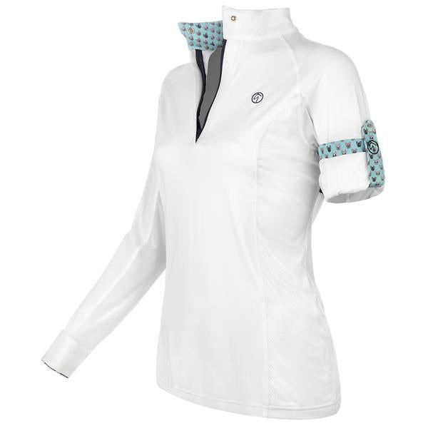 Kathryn Lily - Girls ProAir2 Show Shirt - Frenchie - Quail Hollow Tack